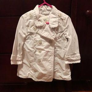 18 month dressy white jacket